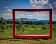Mount Tom in Big Red Frame