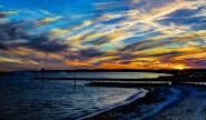 Sunset at Falmouth Harbor