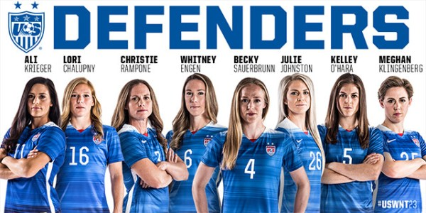 USWNT Unveils 23-Player World Cup Roster – Soccer365