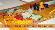 nature based holiday activities kids