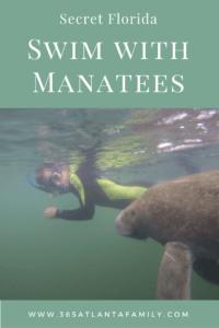 Swim with Manatees Crystal River FL
