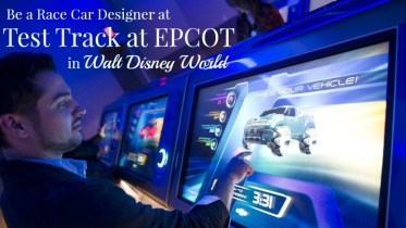 Be a car designer at Test Track EPCOT