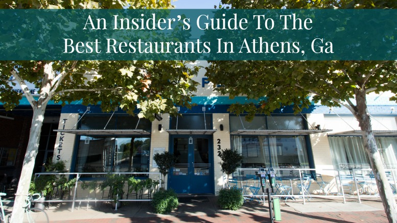 Downtown Restaurants Athens Ga