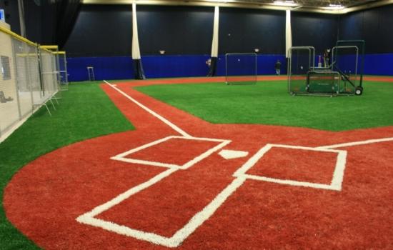 Professional Baseball Instruction of Illinois Indoor Infield