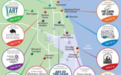 54.  Map Out Your Summer Art Festivals