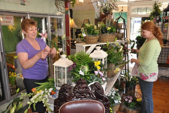 Mother's Day at the Barrington Flower Shop