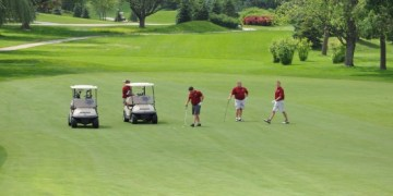 Golfing at Makray in Barrington