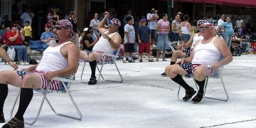 Precision Marching Lawn Chair Dads