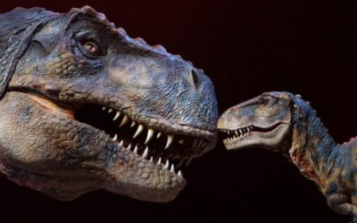 111.  Have a Close Encounter with Baby T-Rex