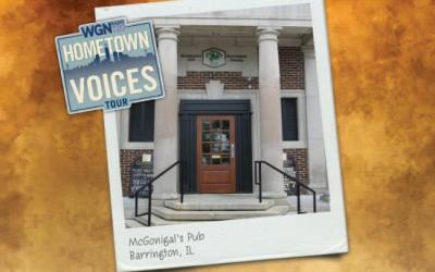 113.  WGN Radio Live Broadcast at McGonigal's