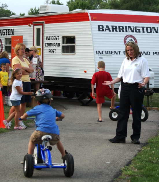 National Night Out Against Crime in Barrington