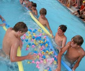 131.  Duck Races at Langendorf Park Pool
