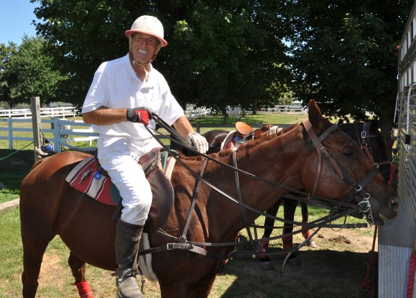Paul Heise Plays Polo in Barrington Hills