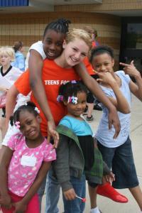 Barrington Students Help Disadvantaged Kids