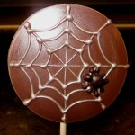 Chocolate Art for Halloween at Anna Shea Chocolate Lounge in South Barrington