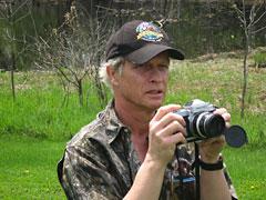 Barrington Photographer Robert McGinley at the Barrington Area Library