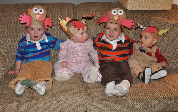 Kids Photos at Thanksgiving