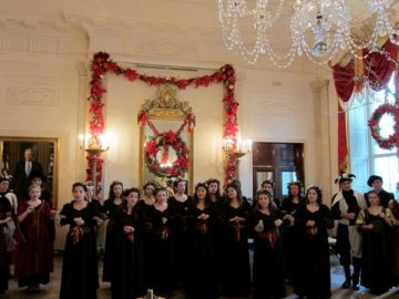Barrington High School Vocal Students Perform at the White House