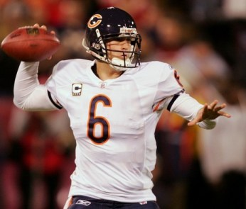 Jay Cutler of the Chicago Bears