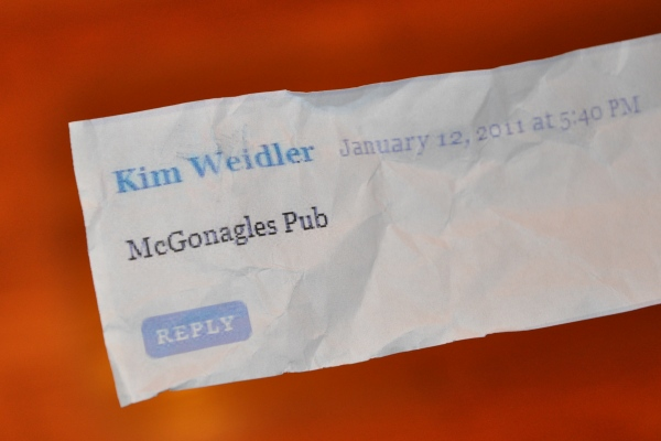 Kim Weidler Wins the 365 Barrington Weekly Mystery Photo Contest