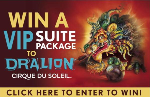Barrington Giveaway for Dralion Cirque Du Soleil at the Sears Center