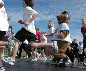 """18.  Community Walk and """"Fun Run"""" for Wellness Place"""