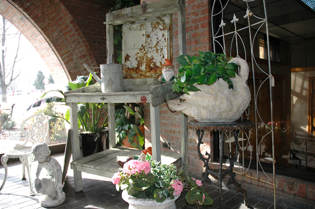 115.  3rd Annual Ice House Mall Antique & Garden Show