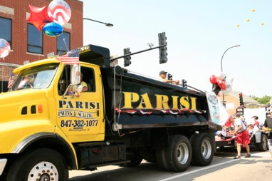 Parisi Paving & Sealcoating on Parade - Susan McConnell