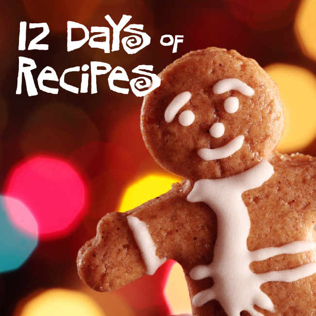 12 Days of Recipes