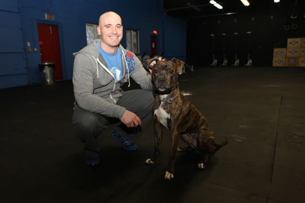 CrossFit Barrington Owner, Brian Niven - Photographed by Julie Linnekin