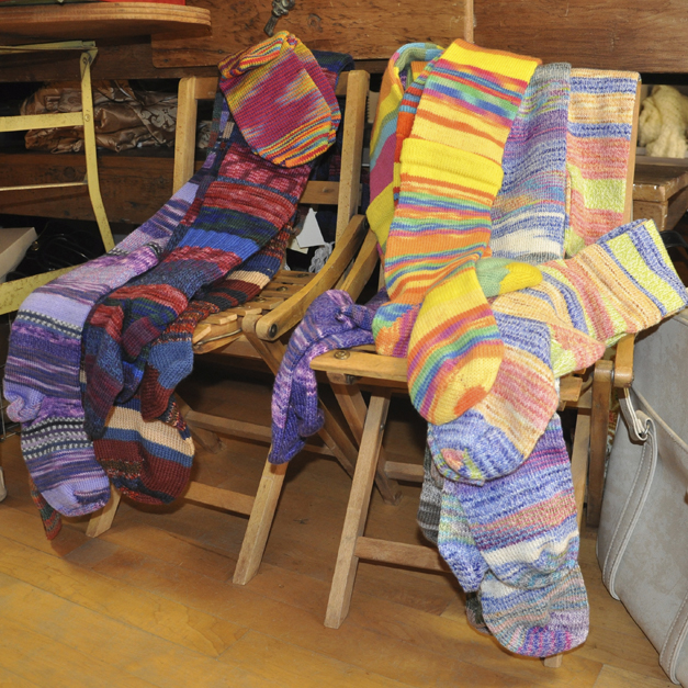 Homemade Socks & Scarves at Re.De.Find