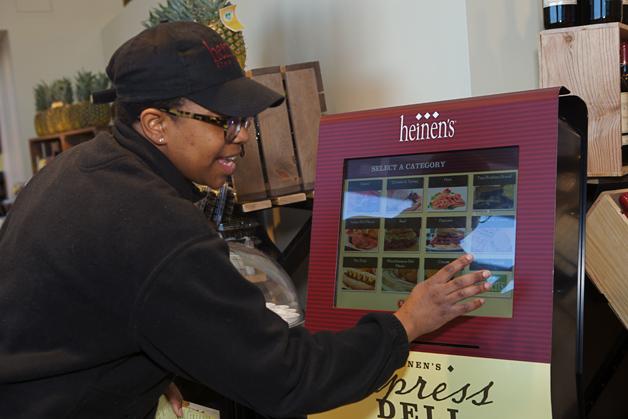 Express Deli Kiosk at Heinen's Fine Foods - Photographed by Julie Linnekin