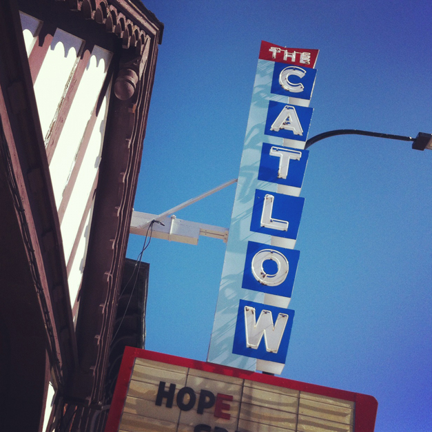 Catlow Theater - Courtesy of Leslie Rowe