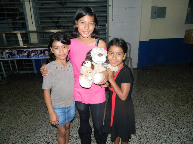 Morales Family Members in Guatemala