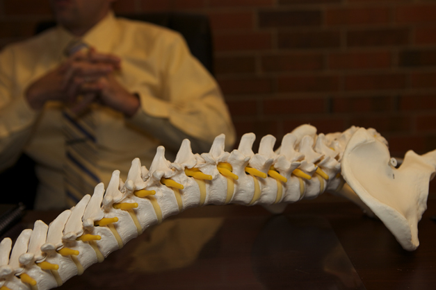 Maintaining Spinal Health with ChiroFit - Photographed by Julie Linnekin