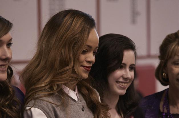 Rihanna at Barrington High School - Photographed by Student, Matt Weidner of WeidscreenPhoto.com