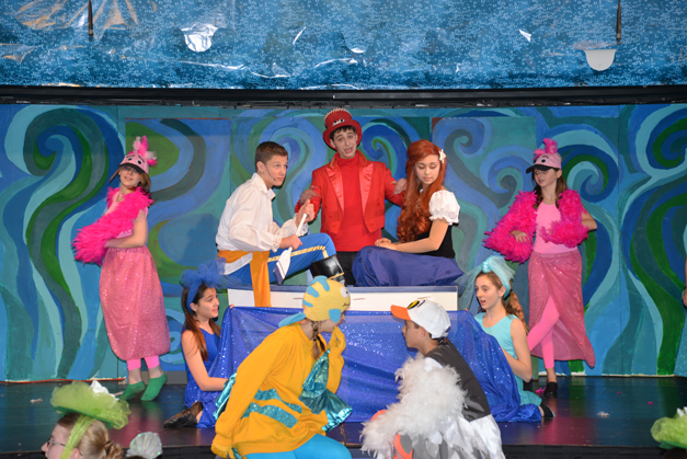 BMS Prairie Student Dress Rehearsal for The Little Mermaid Jr.