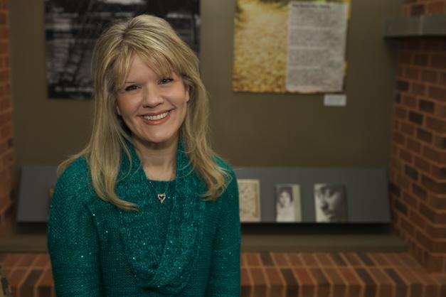 Barrington Area Library Public Information Officer, Karen McBride
