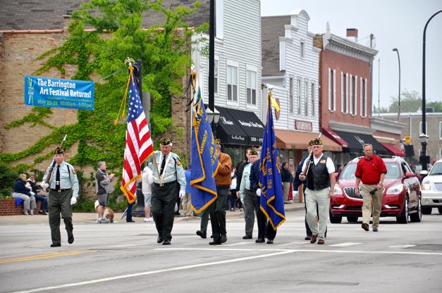 Veterans Lead Barrington's Memorial Day Parade