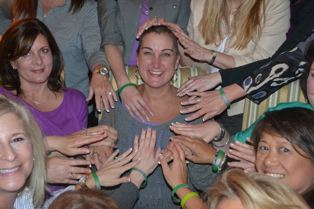 Team Denise Prepares for the 2013 Relay for Life of Barrington