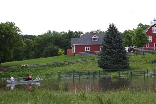 Barrington Flooding - Photographed by Julie Linnekin