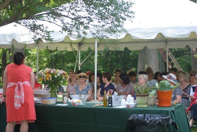 Chef Kelly Donlea Demo at the Barrington Country Garden & Antique Faire