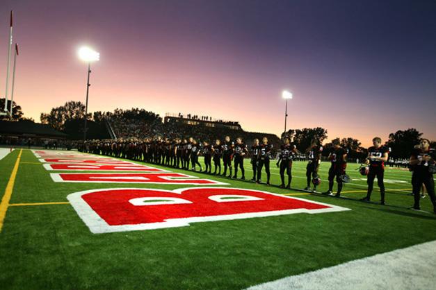 BHS Football Season Begins - Photographed by Bob Milkovich