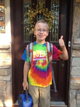 4th Grade and ready! - Submitted by Mom, Laurie