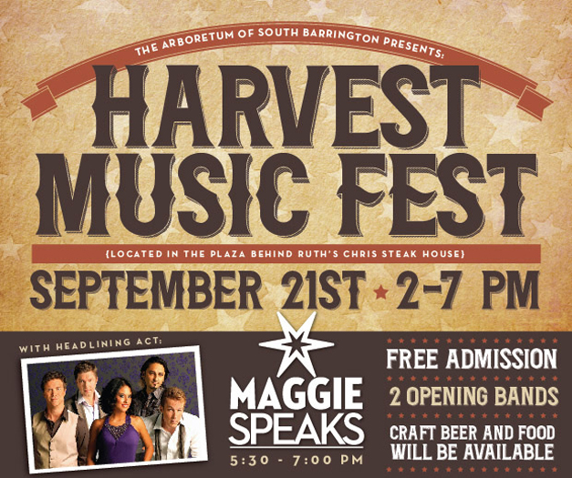The Arboretum of South Barrington Hosts Harvest Music Fest this Weekend