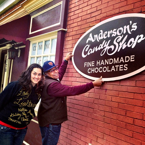 Calling all sweet tooths!  Anderson's candy shop is moving three blocks east from their space in the historical society building to a location that allows for more visible signage at 128 E. Main Street just west of Cook Street in Barrington.  The grand opening at their new location is this Friday, October 18th, just in time for Halloween!  They have a great selection of homemade candy for trick-or-treaters and owner Leif Anderson also recommends their  top sellers... buttercream and caramel candies plus their