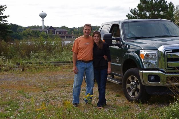 Mike and Jennifer Kainz - Photographed by Julie Linnekin