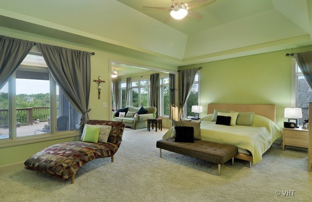 Master Bedroom at 205 Honey Lake Court in North Barrington, IL - Listed for Sale by Suzanne & Liz Luby