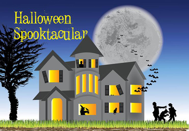 Halloween Spooktacular at the Barrington Park District - 10 am to 1 pm on Saturday, October 26th 2013