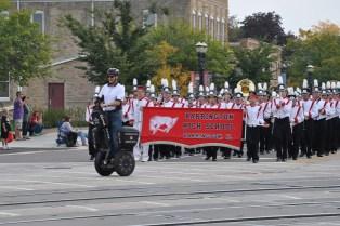 Barrington Homecoming Parade 2013